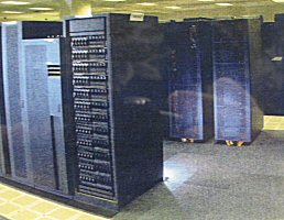 2002: IBM CCS Phase 1 - Massively Parallel - 704 CPUs - 1,849 GFlops.  2005: IBM CCS Phase 2 - Massively Parallel - 1,408 CPUs - 5,730 GFlops